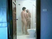 แฟนใหม่ อาบน้ำ หีนศ ล้างหี ท่าหมา
