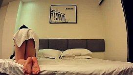 หลุดIP Cameraโดนแฮ็คแอบถ่ายคู่สามีภรรยาเอากันในม่านรูด พามาอึ้บกันเล่นชู้ เด้าหีอมควยเลียหีให้น้ำไหล