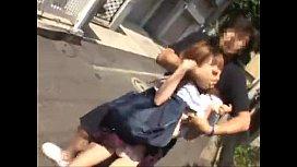 ถ่กกระโปรงมาพี่อยากเห็นกางเกงใน นักเรียนญี่ปุ่นโดนแก็งค์หื่นรวบแล้วถ่างหีมา ก้นขาวแนววัยรุ่นทีนสุดๆSexy