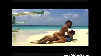 ซั่มกลางแจ้ง หนังxฝรั่งฟรีออนไลน์ กลางชายหาดส่วนตัว ขย่มโคกควยแทบบิด หีแข็งแรงบ้ากาม
