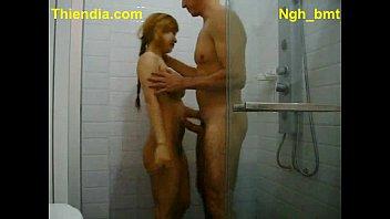 เอากัน อาบน้ำด้วยกัน ห้องน้ำ หีไทย หีสาวไทย